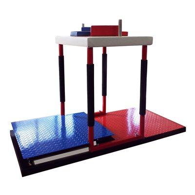 Стол для армрестлинга с регулируемыми площадками AV127/80
