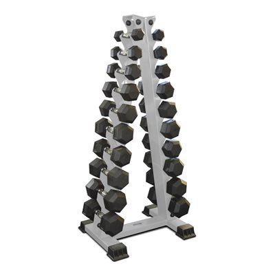 Стойка «Ёлочка» для фитнес гантелей на 10 пар AV607/80