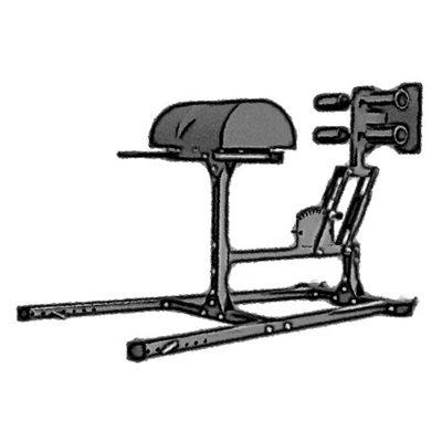 Гиперэкстензия - римский стул GHD тренажер AV126/80